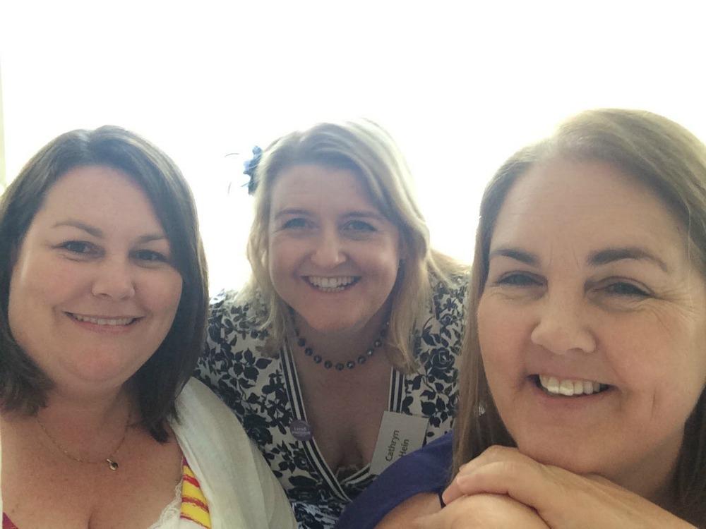 Amy, me and Belinda at High Tea
