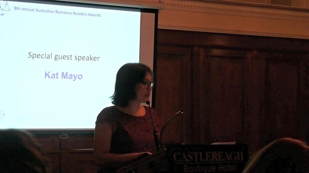 ARR Awards guest speaker Kat Mayo