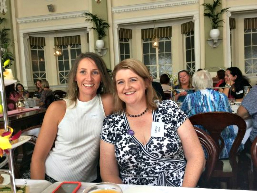 Suzanne and me at High Tea