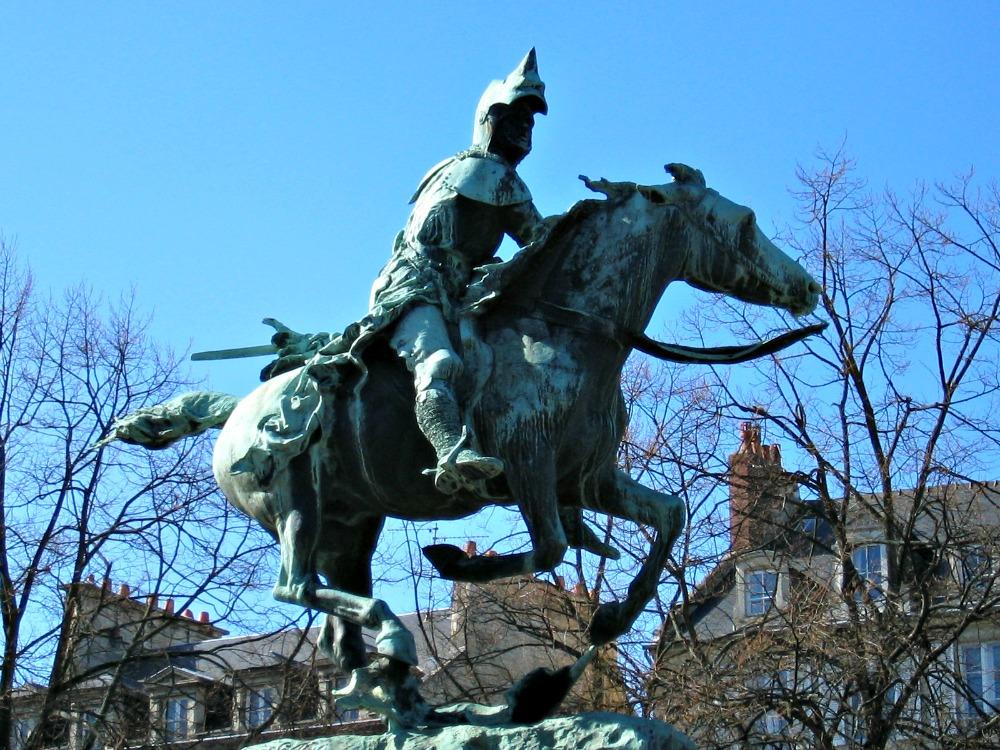 Bertrand de Guesclin, Caen