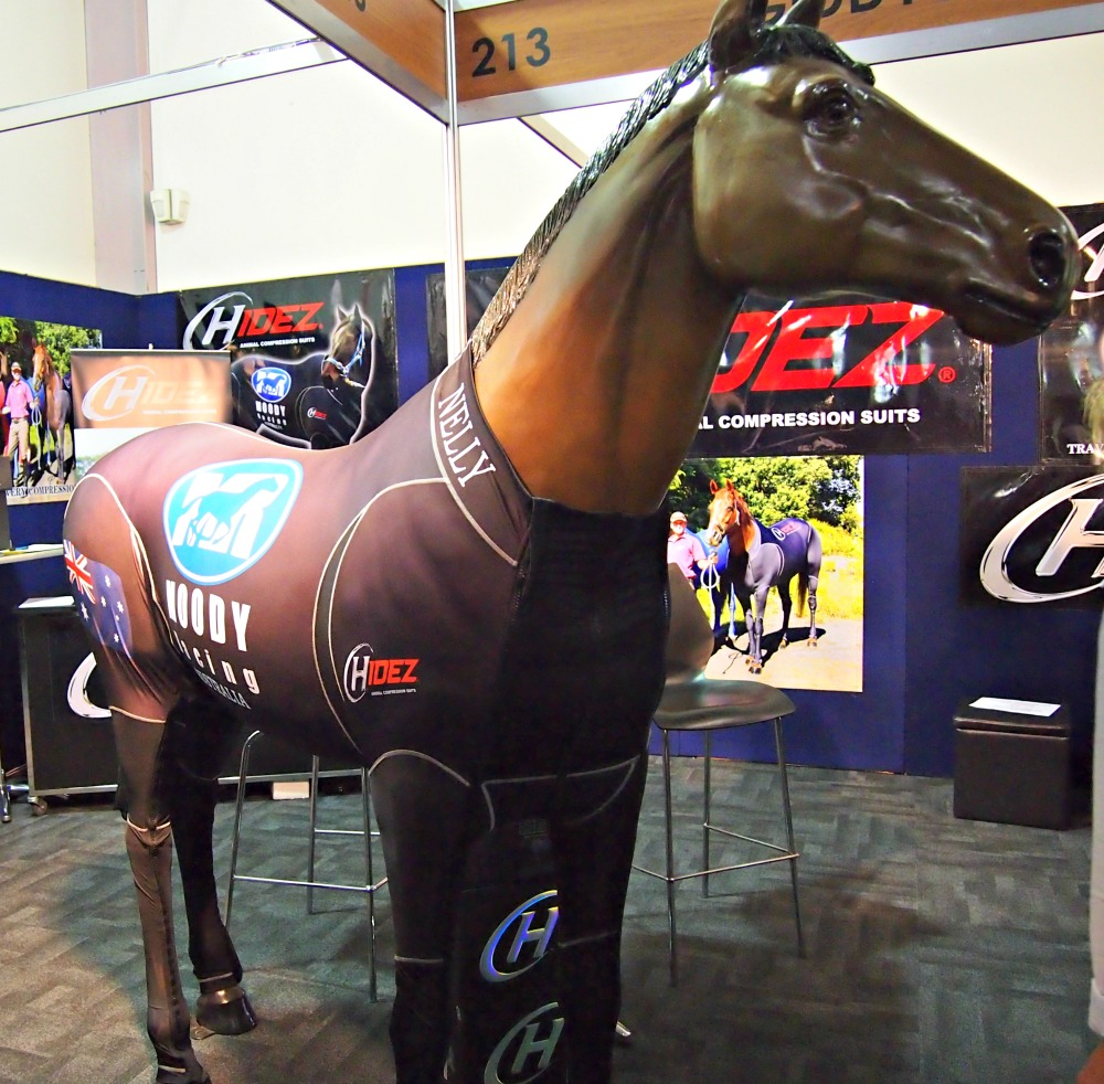 racehorse Black Caviar's compression suit