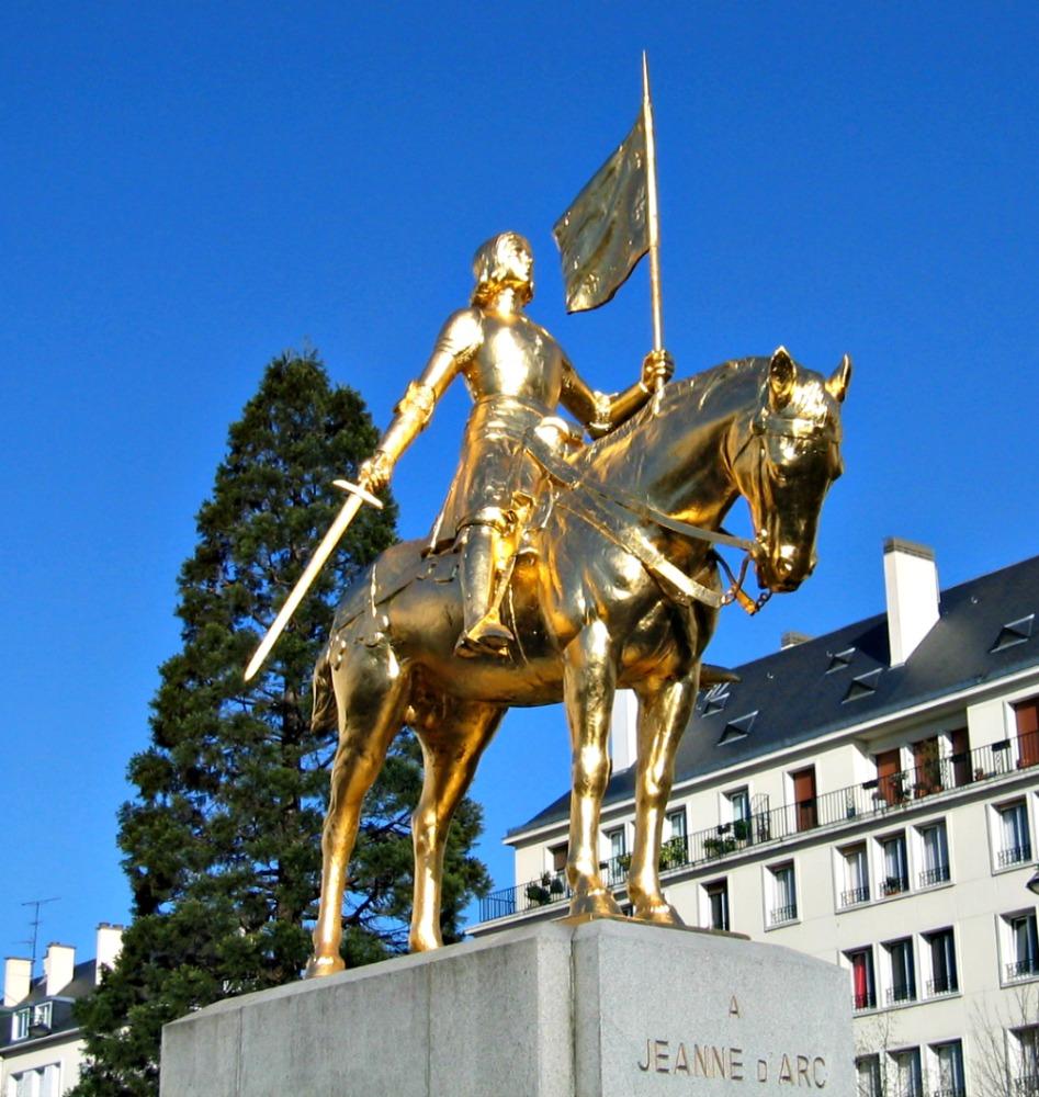 Jeanne d'Arc, Caen