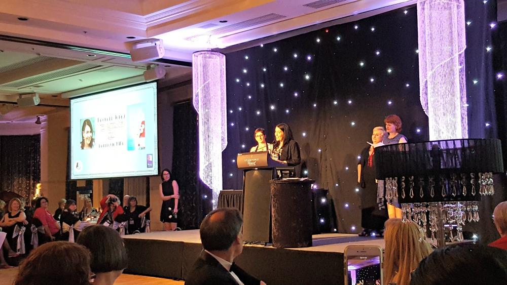 2016 RWA Awards Dinner - Rachael Johns Ruby Award