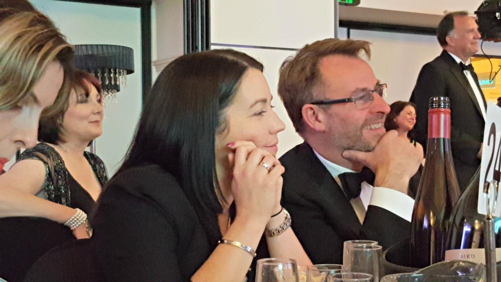 2016 RWA Awards Dinner - Rachael Johns and James Kellow