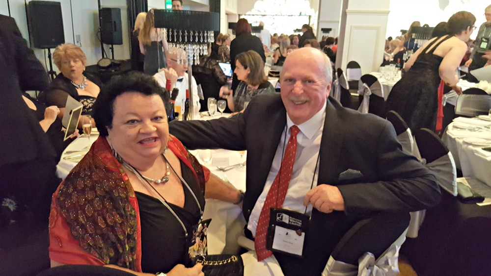 2016 RWA Awards Dinner - Suzi Love and husband Graham