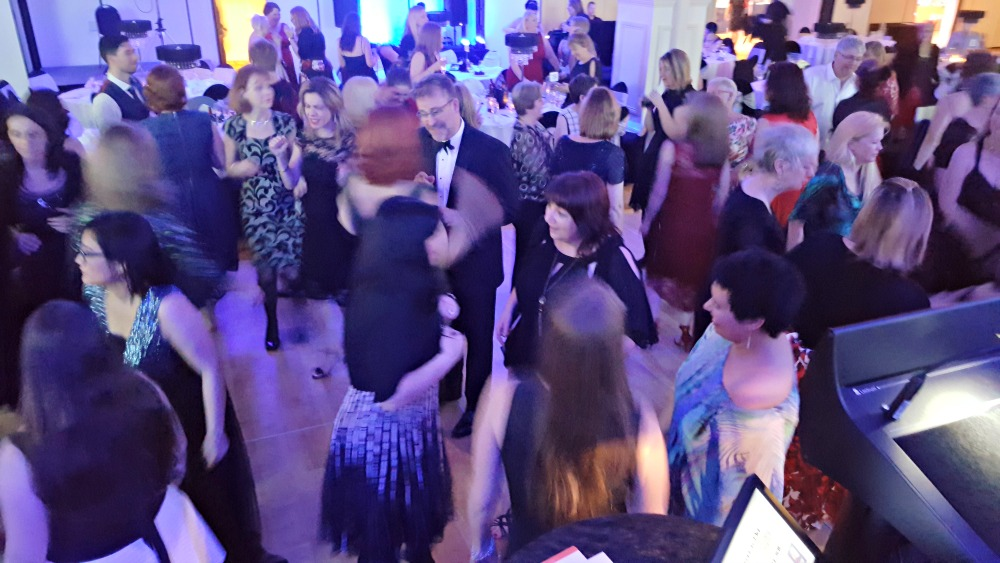 2016 RWA Awards Dinner - dancing