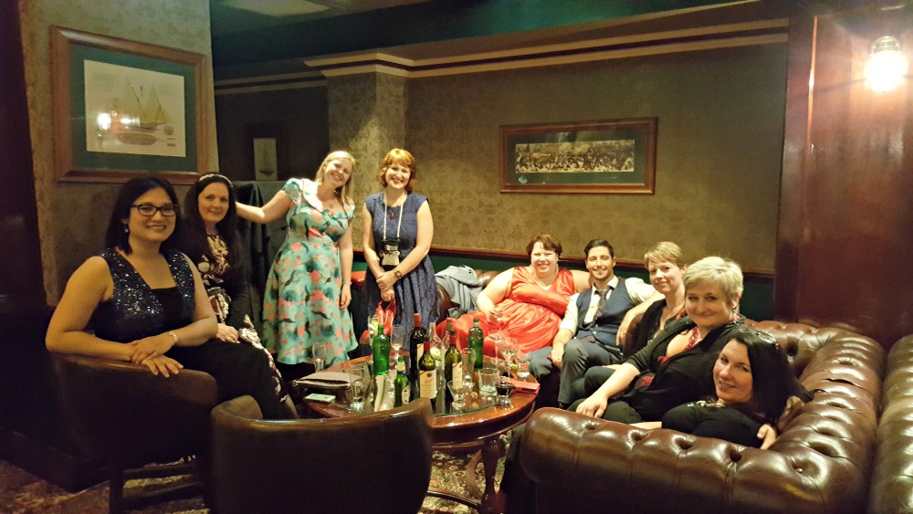 2016 RWA Awards Dinner - post dinner lounging