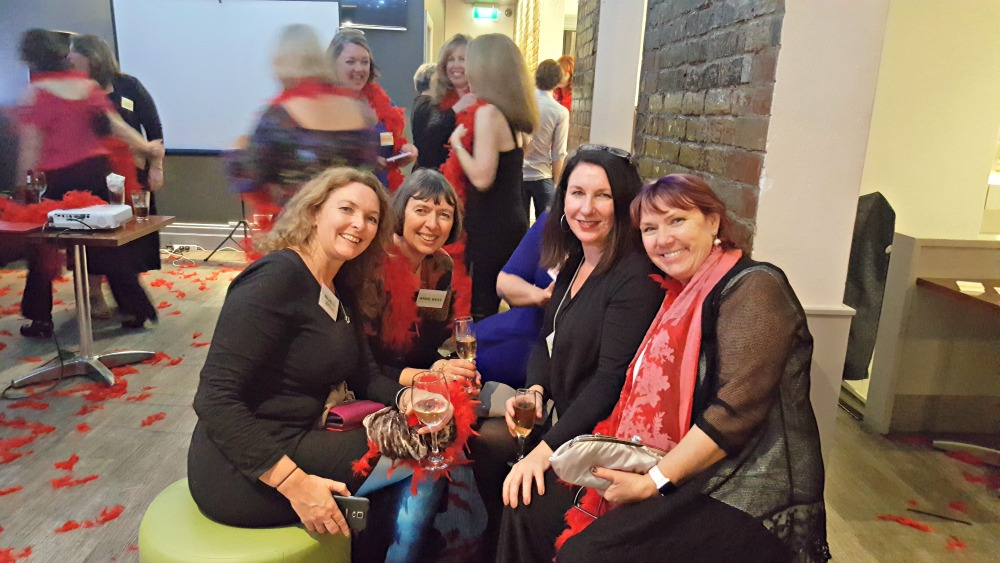 Harlequin author party