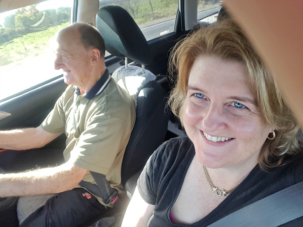 Me and Dad road trip