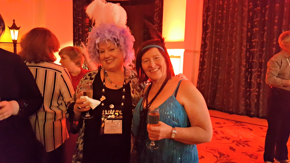 RWA 2016 Cocktail Party - Anne Gracie Keri Arthur