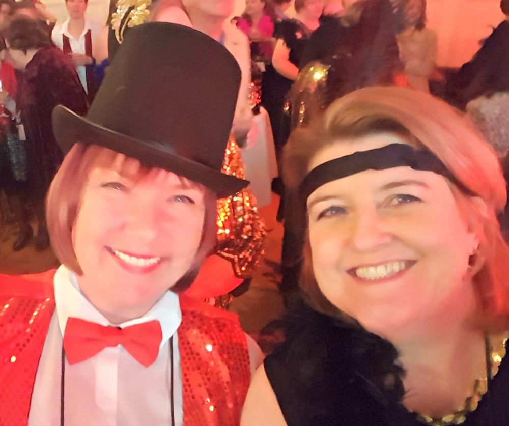 RWA 2016 Cocktail Party - Fiona McArthur and me