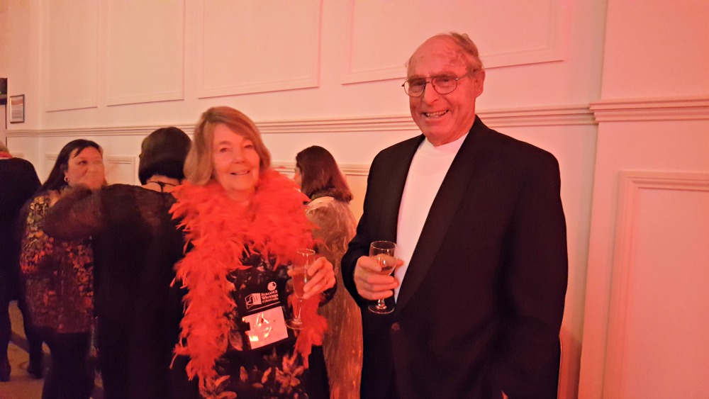 RWA 2016 Cocktail Party - Jane and Richard Carter