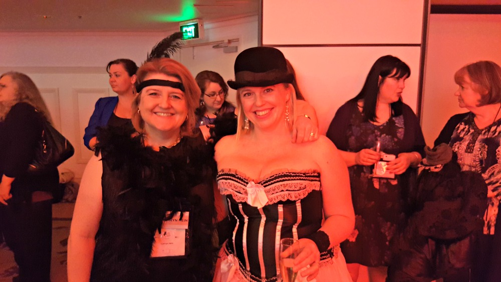 RWA 2016 Cocktail Party - me and Alex Adsett