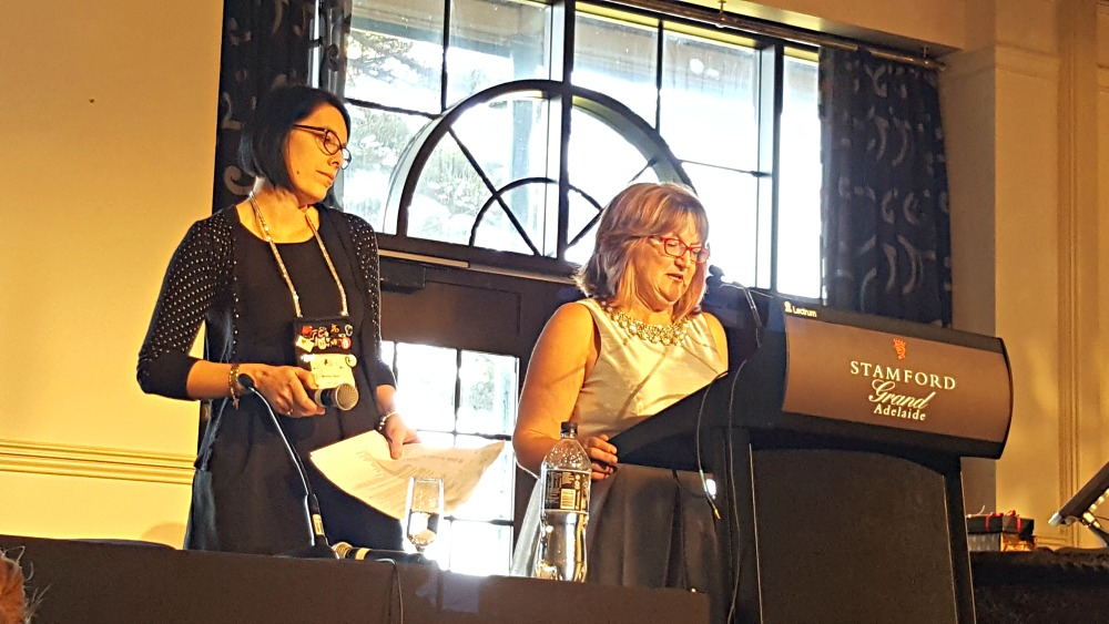 RWA Conference - Bronwyn Stuart and Trish Morey