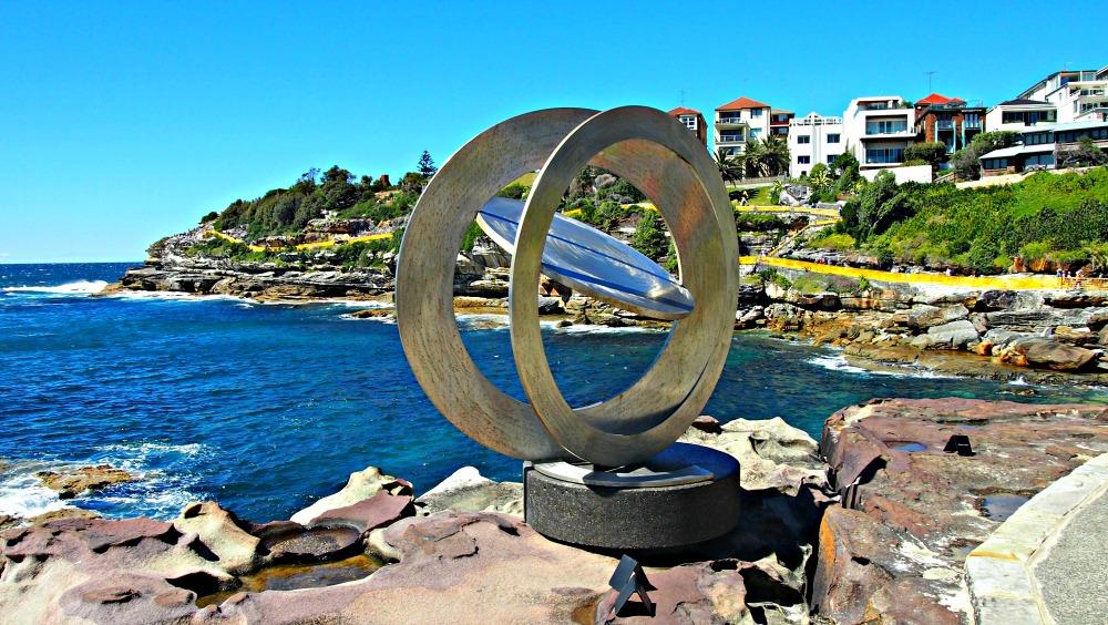 Celestial Rings by Inge King AM