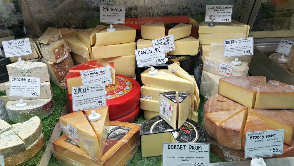 More cheesey goodness. Some of the harder cheeses.