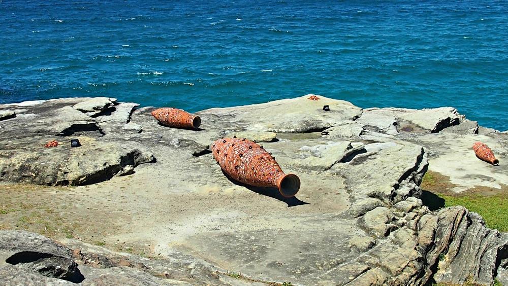 Three Vessels - Amphora, Pug and Torpedo by Andrew Burton