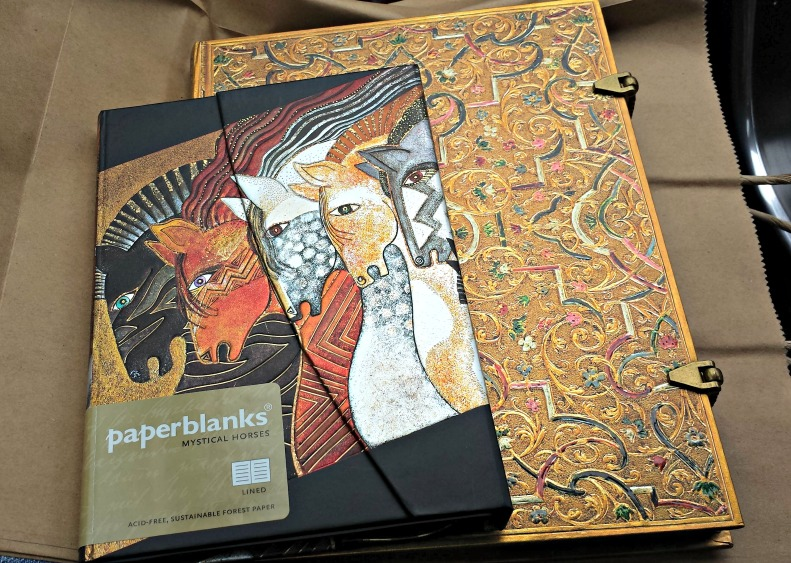 My Paperblanks notebooks