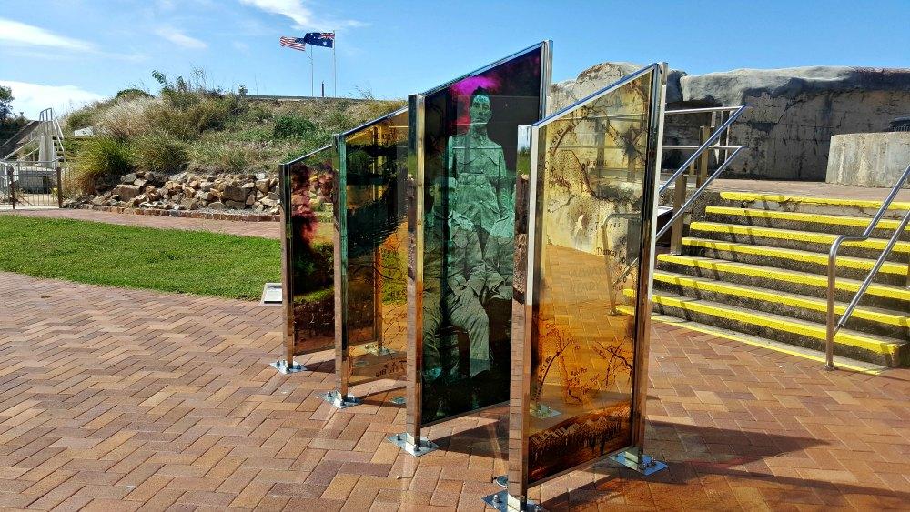 A Jezzine Barracks memorial
