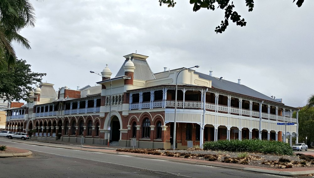The former Queens Hotel