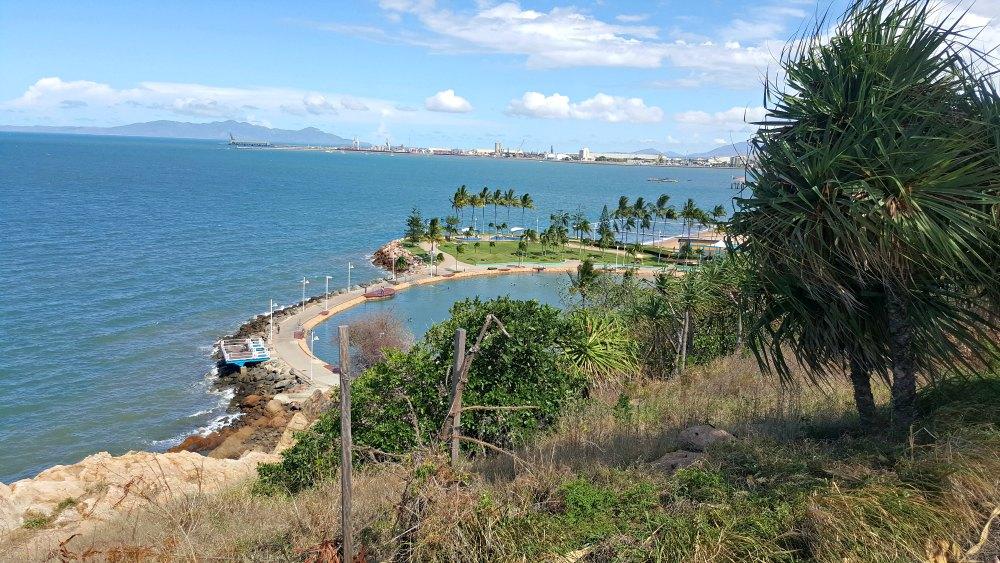 View from Jezzine Barracks