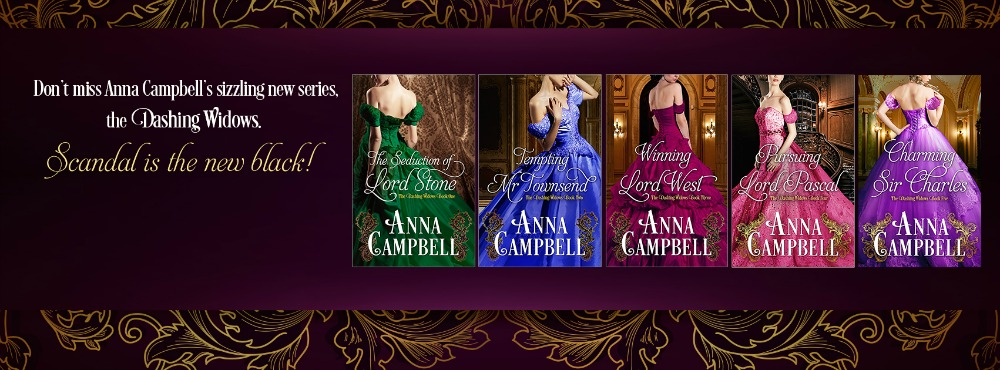 The Dashing Widows series by Anna Campbell