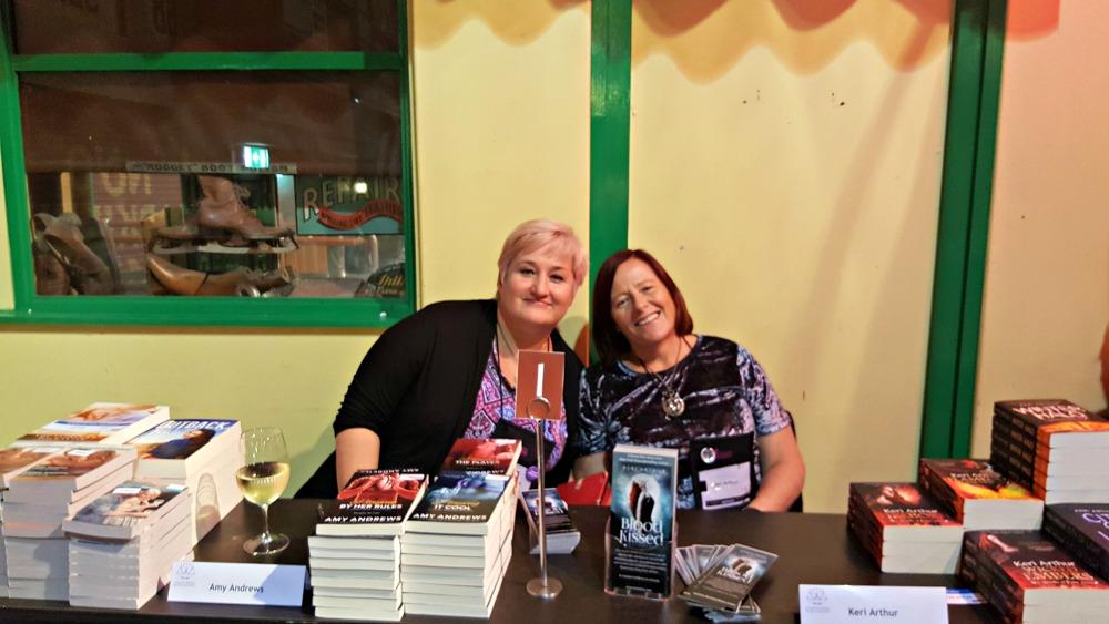 Amy Andrews and Keri Arthur at ARRC 17