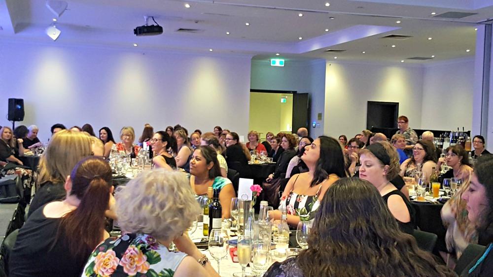 The ARR Awards dinner crowd.