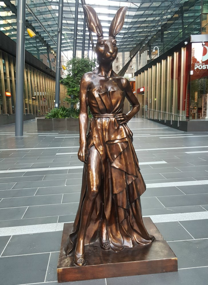 Loved this sculpture in the nearby Southern Cross Tower.