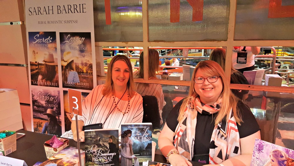 Sarah Barrie and Amy Rose Bennet at ARRC17