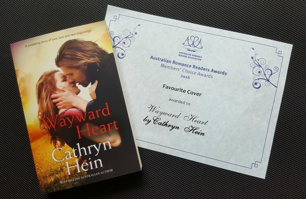 Wayward Heart's Favourite Cover Award.
