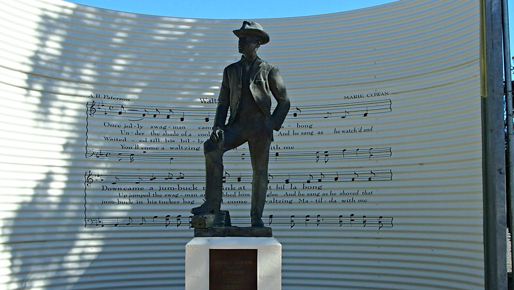 Banjo Paterson sculpture