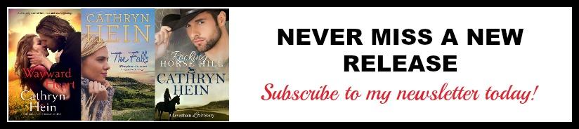 Newsletter subscription banner