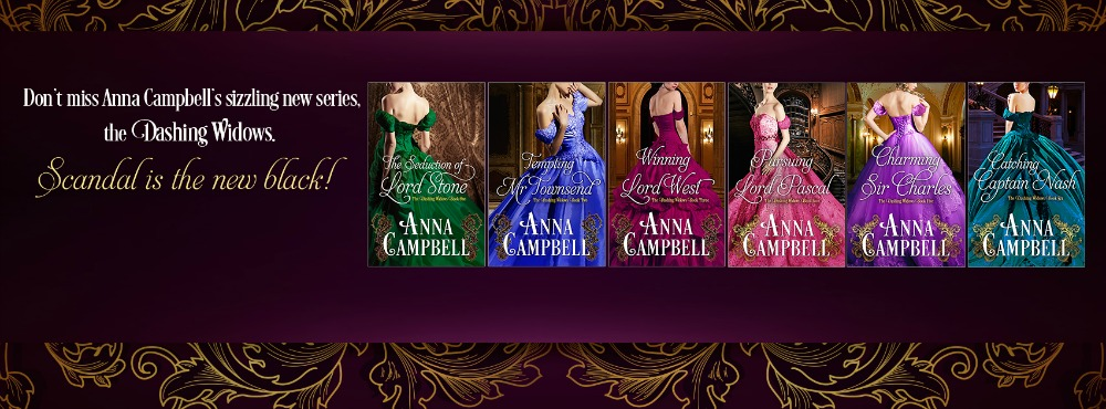 Anna Campbell Dashing Widows Series
