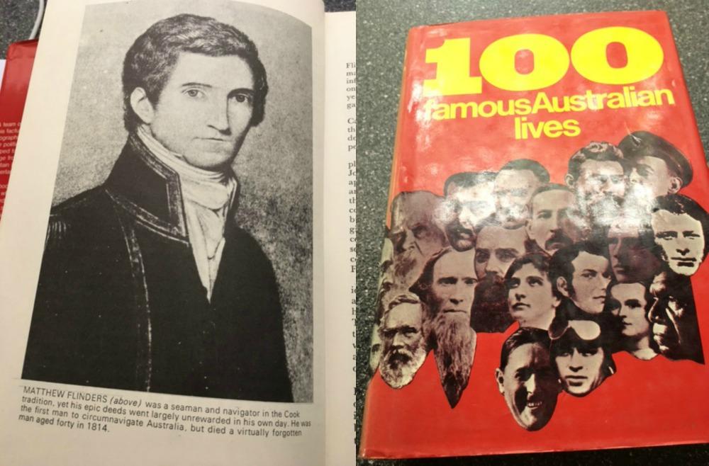 Matthew Flinders collage
