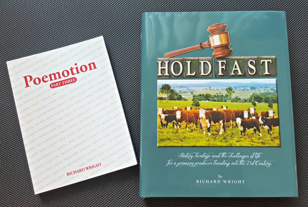 Poemation and Hold Fast by Richard Wright