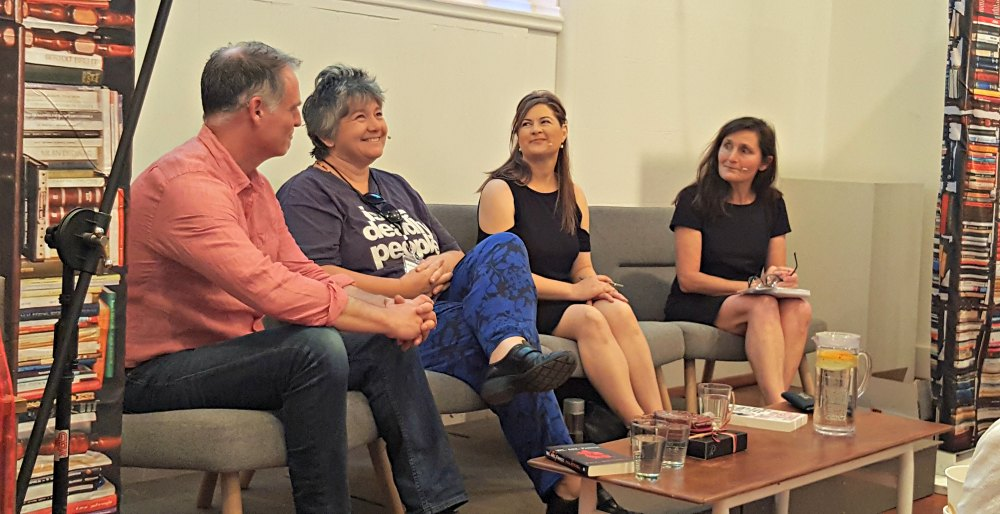 The Dark Art of Writing Domestic Drama panel