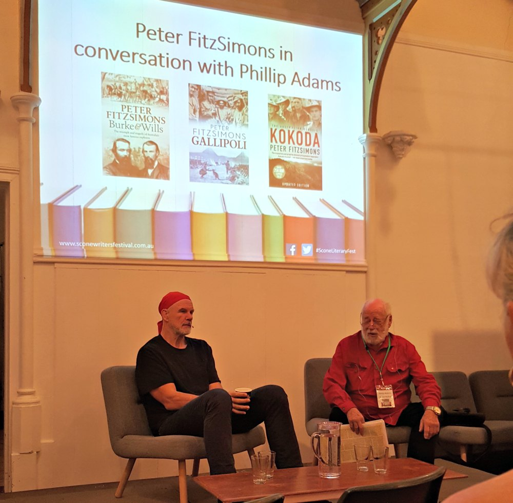 Peter FitzSimons and Phillip Adams