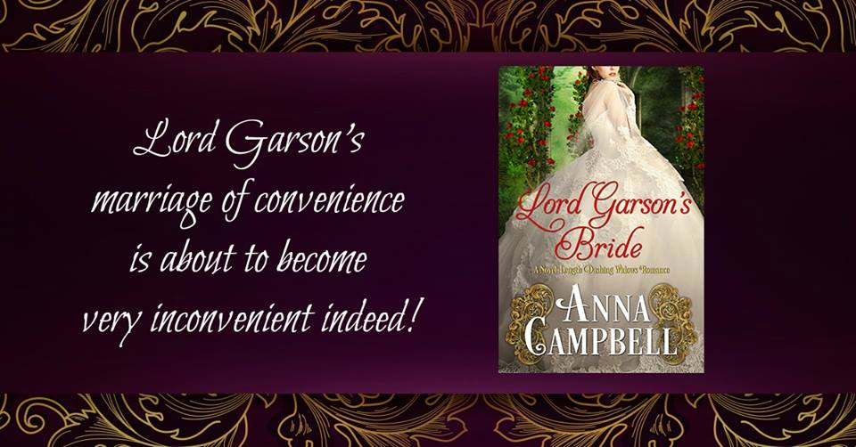 Lord Garson's Bride by Anna Campbell - meme