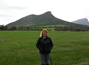 Me with Mount Sturgeon in the background
