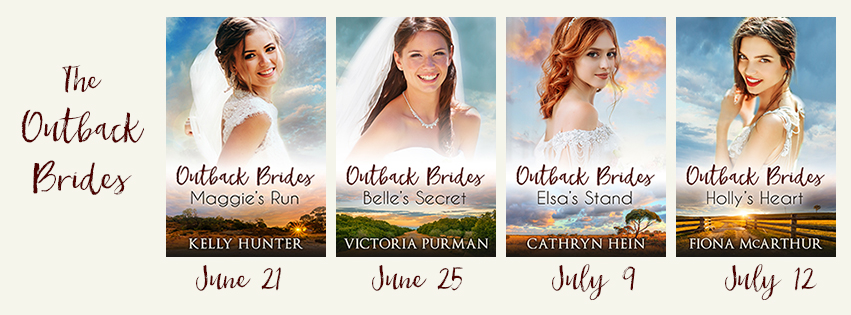 Each book in the Outback Brides series 2018
