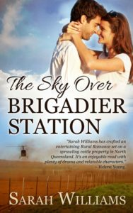 The Sky Over Brigadier Station by Sarah Williams