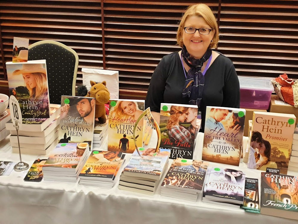 Me all set up and ready to go at ARR19, Sydney.