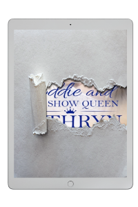 Eddie and the Show Queen partial cover reveal