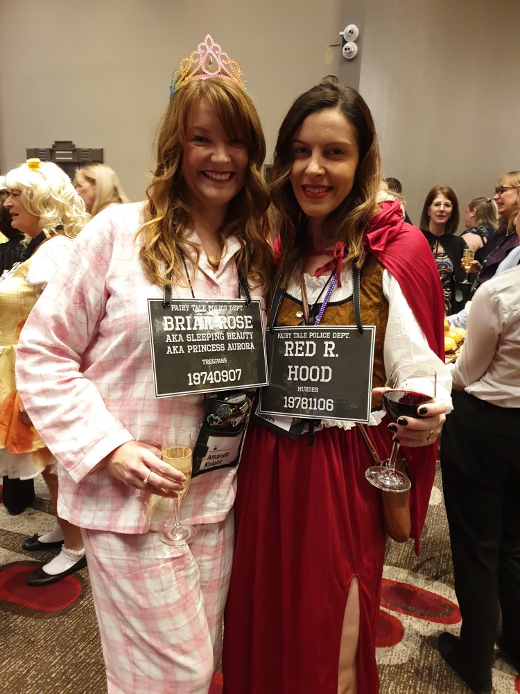 Authors Amanda Knight and Emily Madden, 2019 Romance Writers of Australia conference