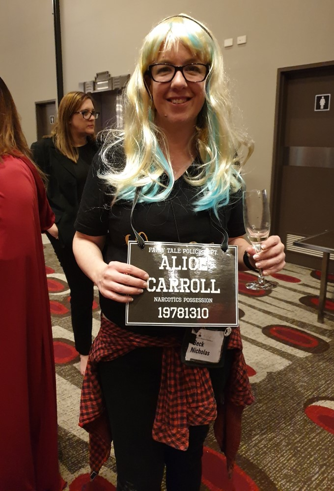 Young adult author Bec Nicholas, 2019 Romance Writers of Australia conference