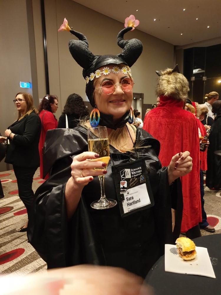 Author Sara Hartland, 2019 Romance Writers of Australia conference