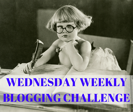 Wednesday Weekly Blogging Challenge meme