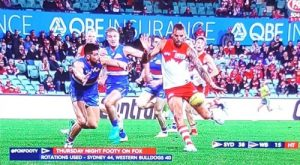 Sydney Swans on telly