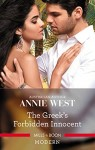 The Greek's Forbidden Innocent by Annie West